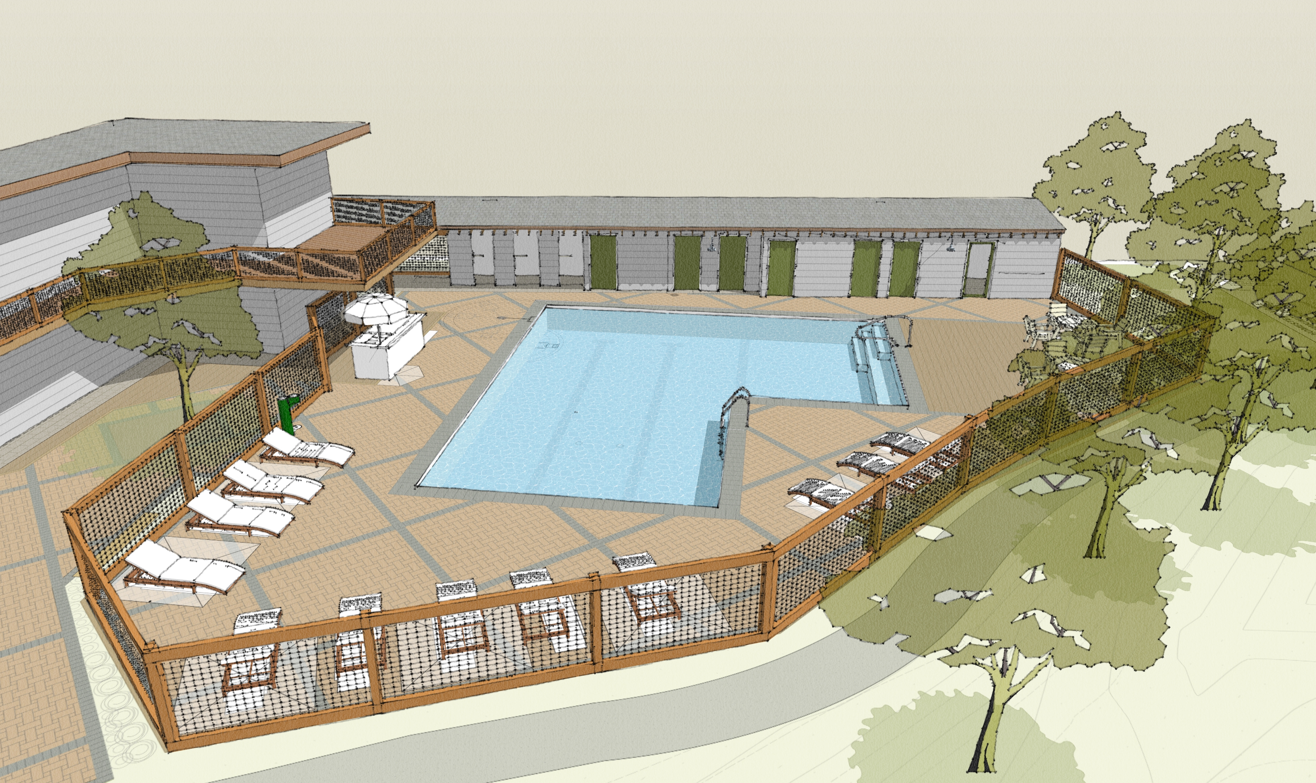 Proposed Homestead Pool Design